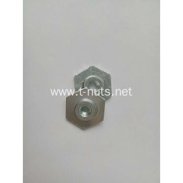 Full thread Hexagonal base Cap nut